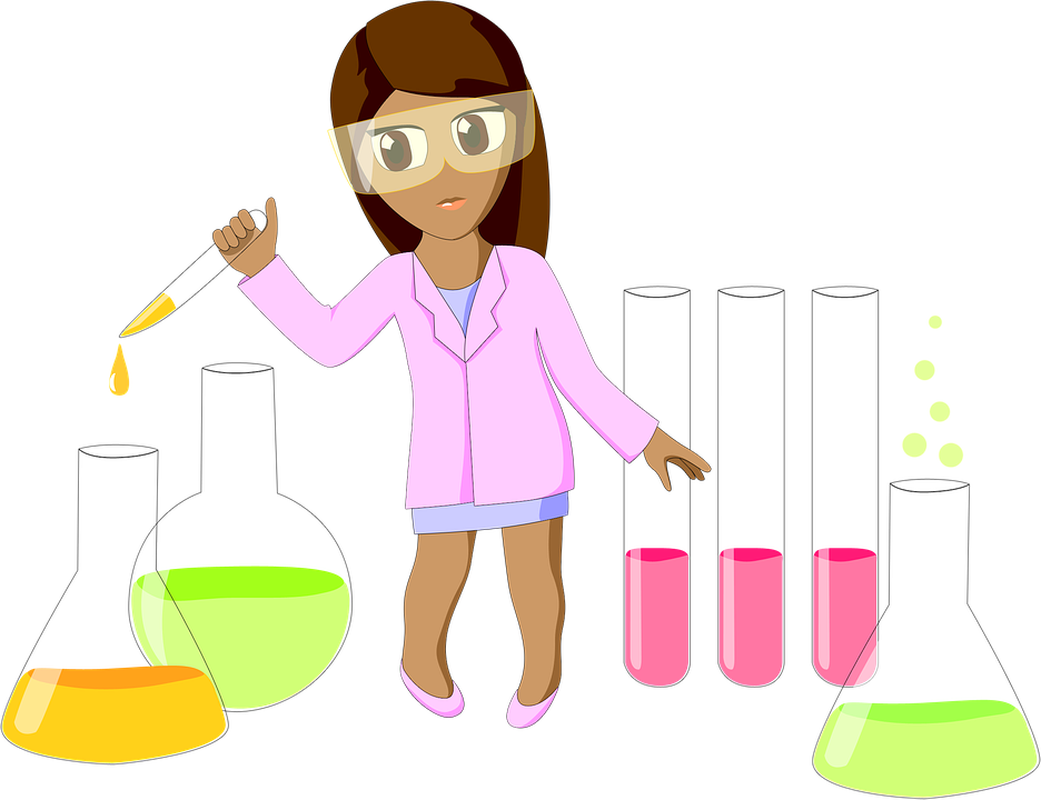 Scientist clipart chemist.