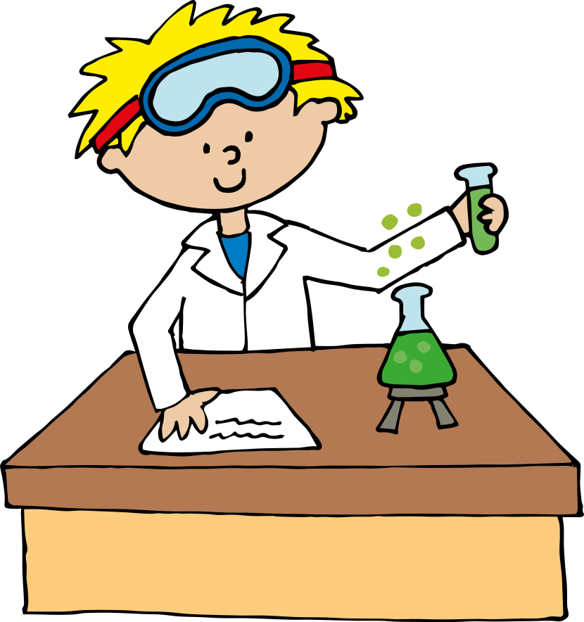 Scientist clipart study science.