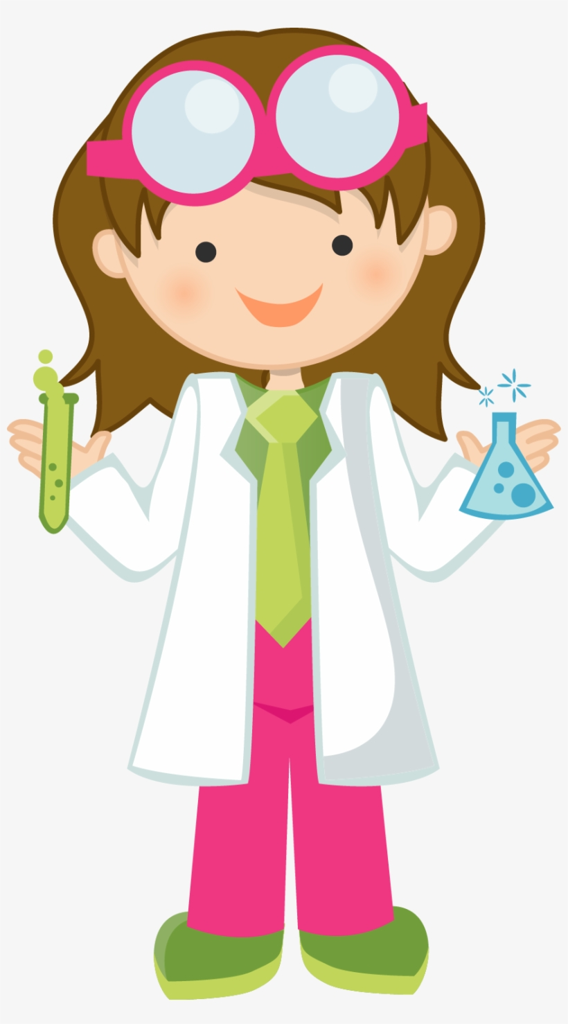 Scientist clipart easy.