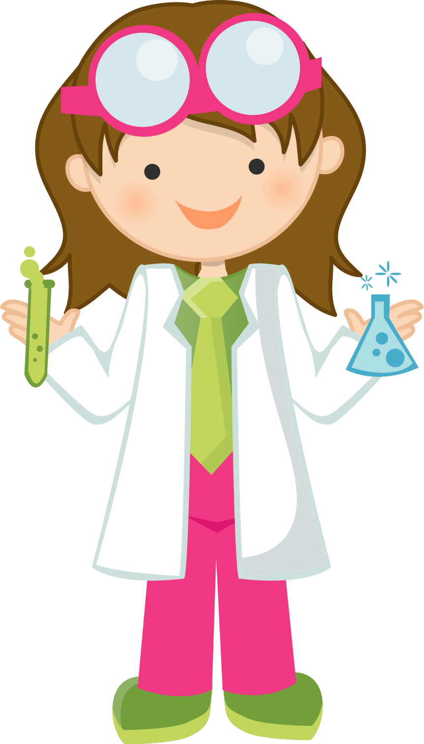 Scientist clipart friendly.