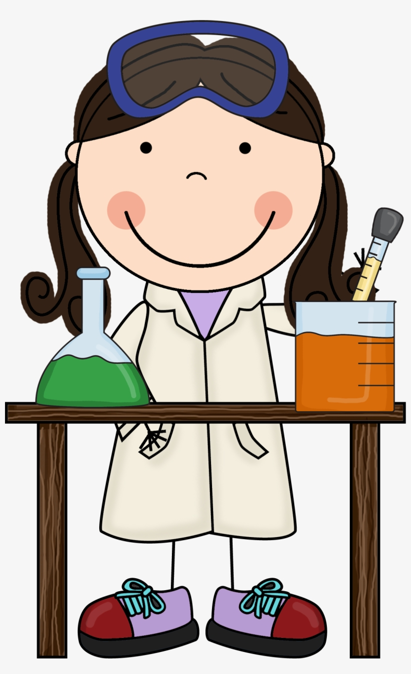 Scientist clipart kid.