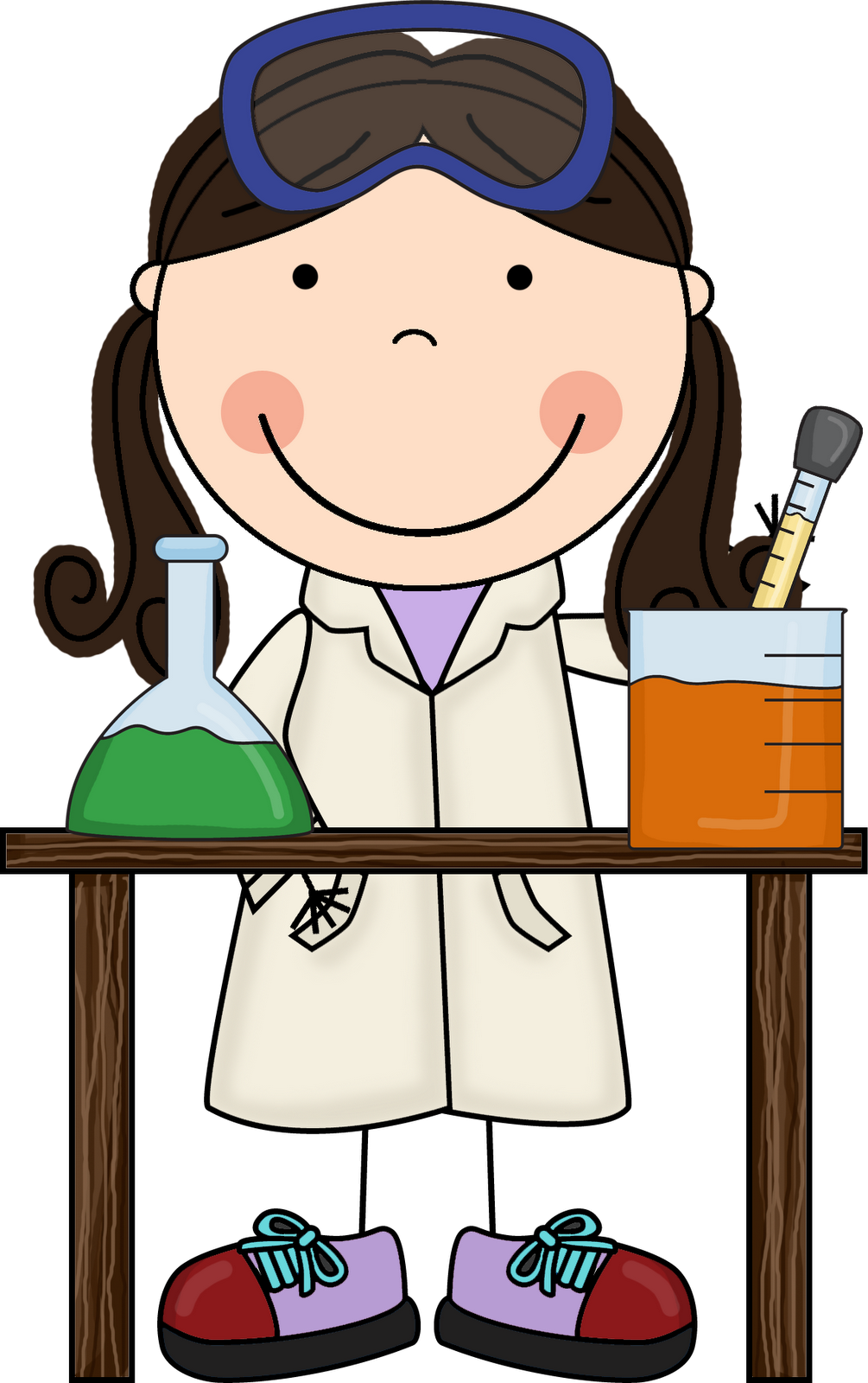 Scientist clipart science area.