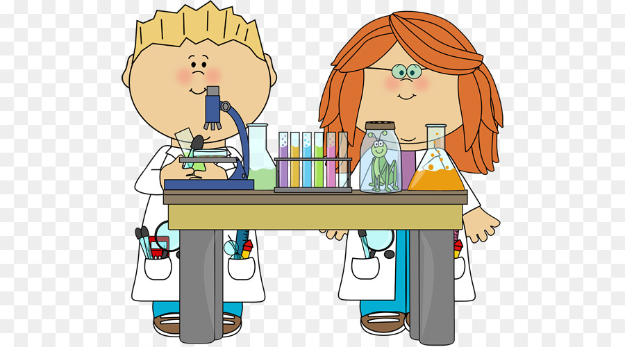 Scientist clipart science project.