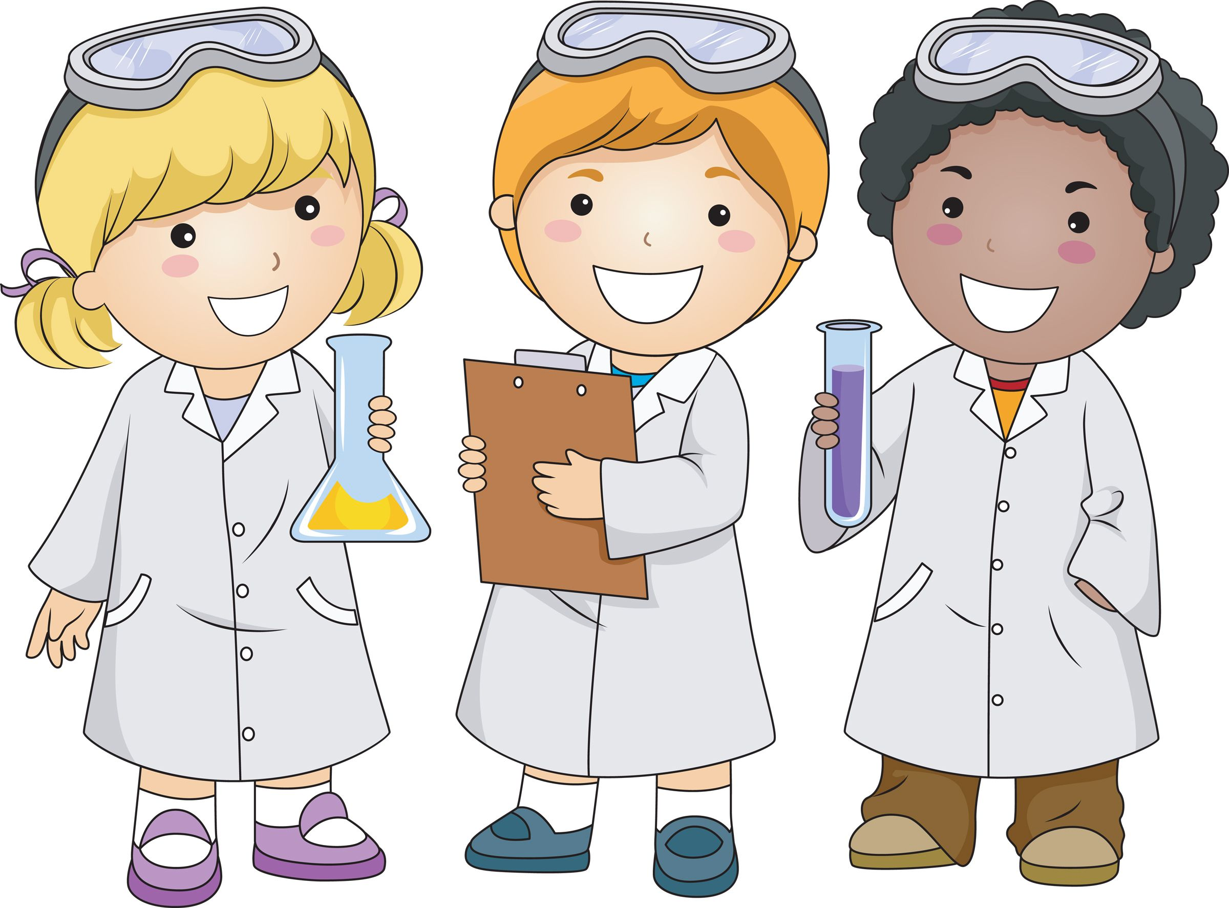 Scientist clipart science activity.