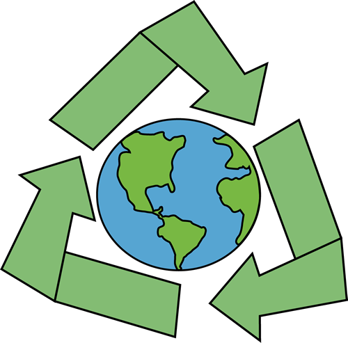 earth day clipart recycle