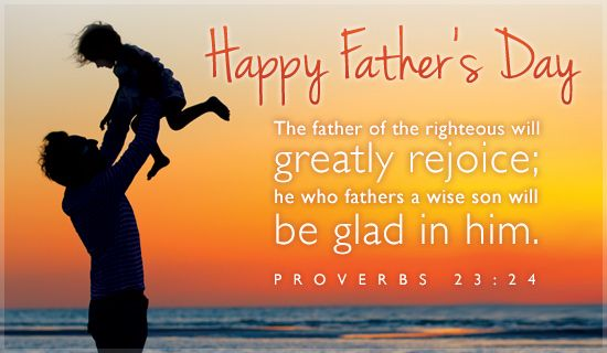Scriptures clipart fathers day.