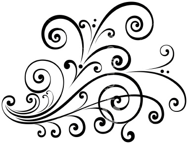 Scroll clipart easy drawings.