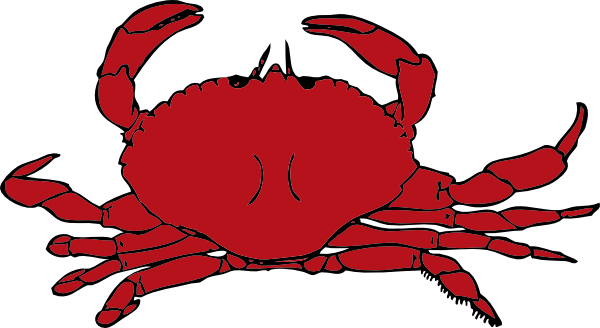 crabs clipart simple