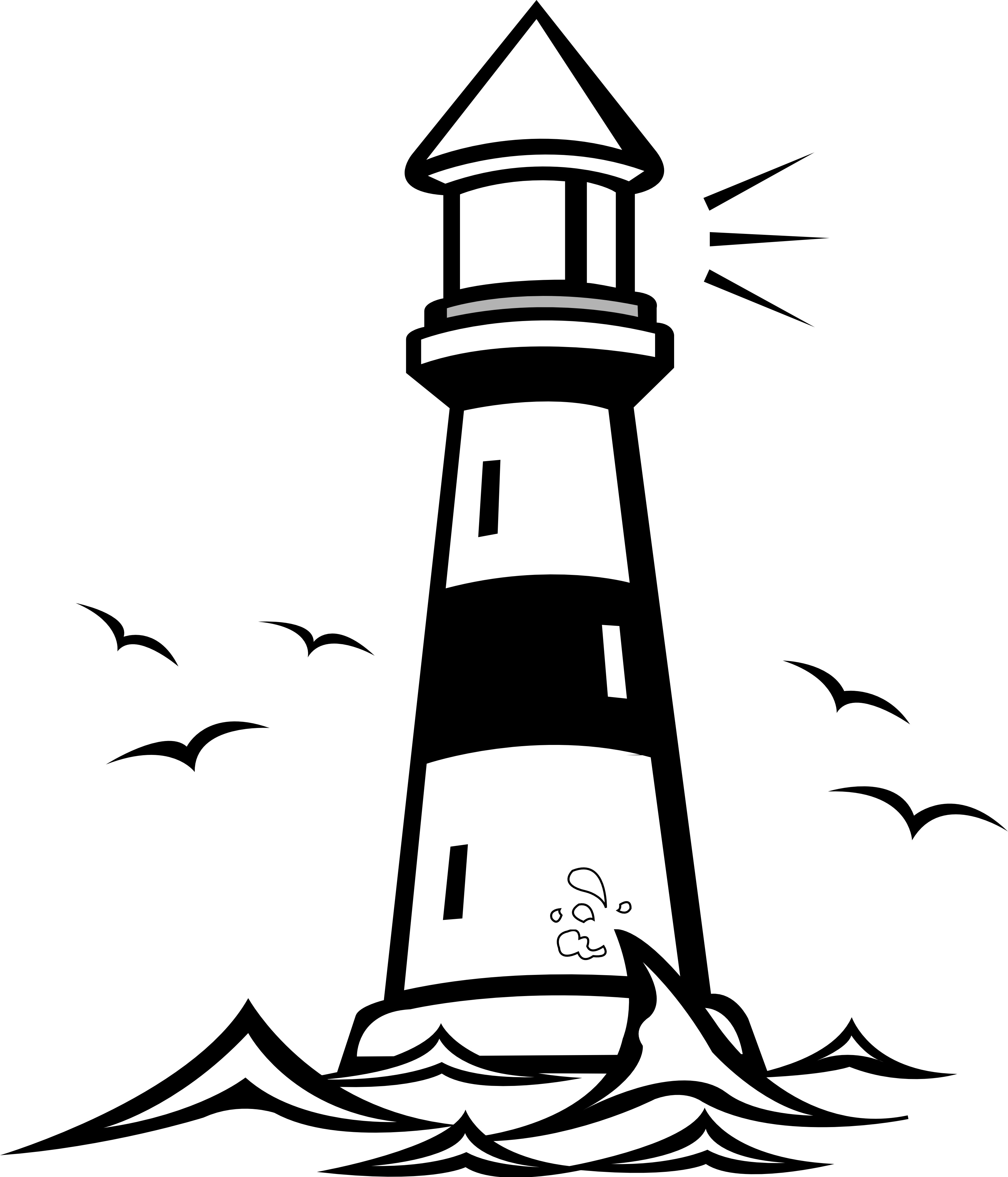 ighthouse clipart silhouette