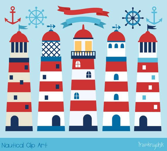 ighthouse clipart nautical
