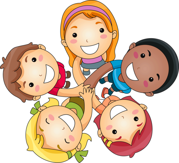 friendship clipart multicultural
