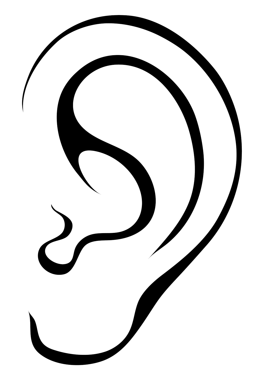 ear clipart listening