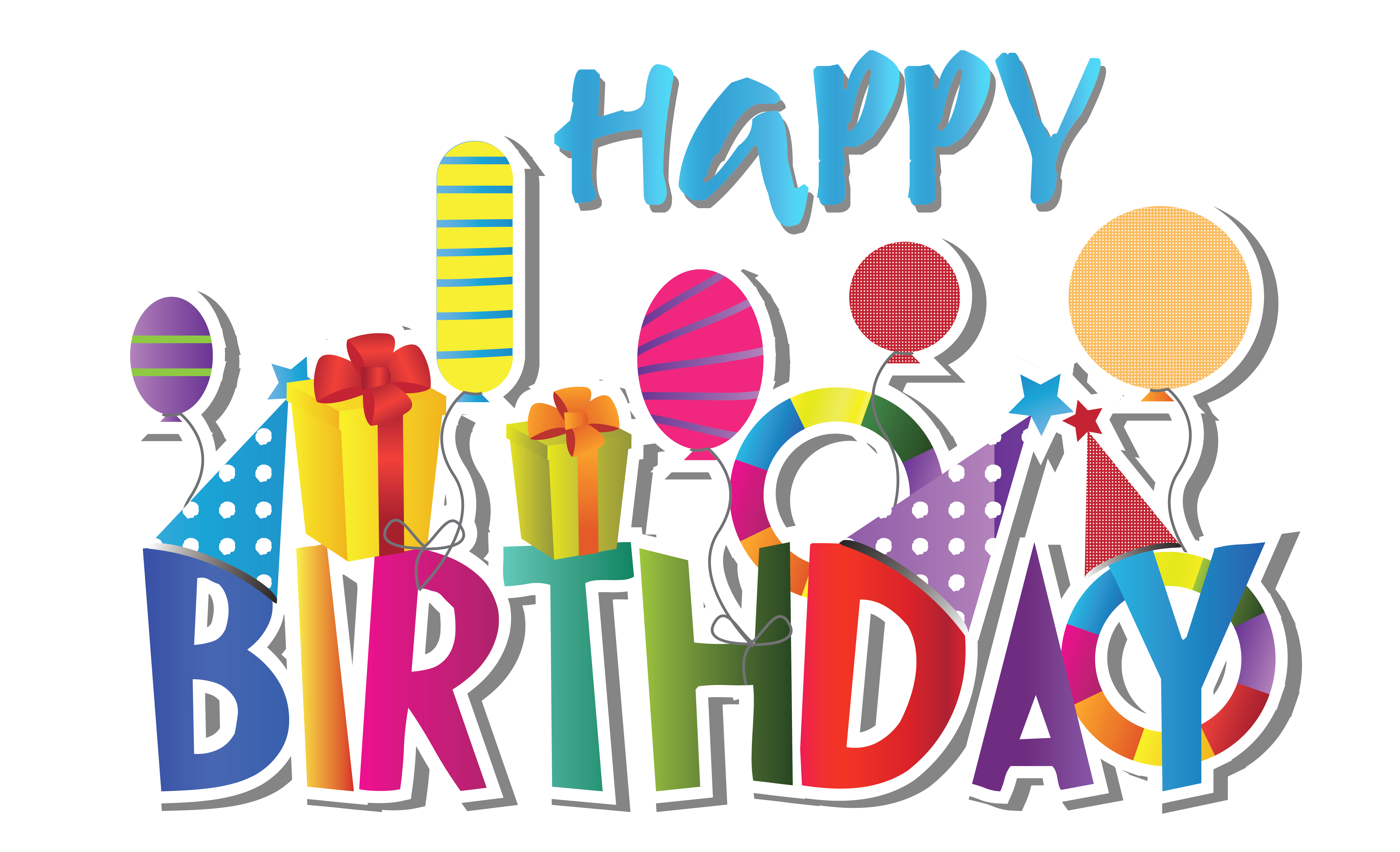 free birthday clipart downloadable