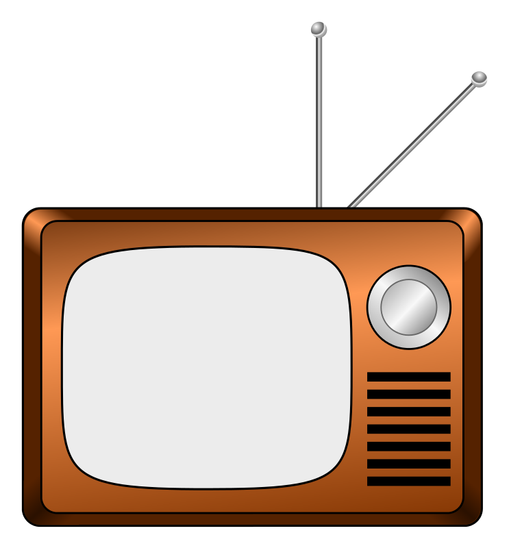 clipart tv animated