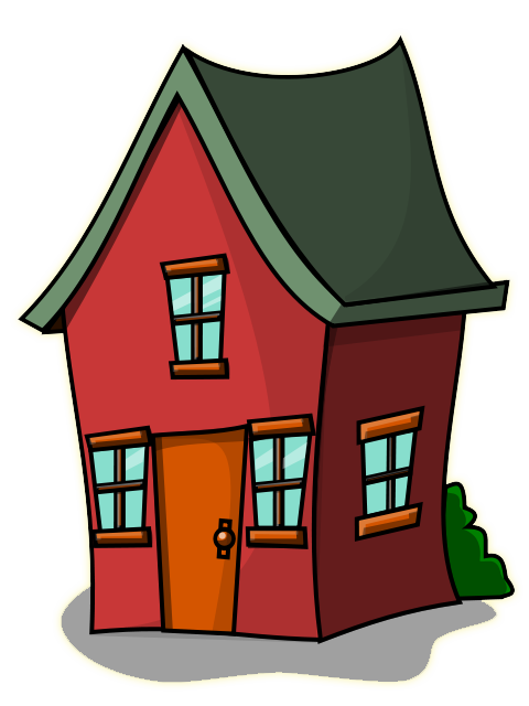 house clipart old