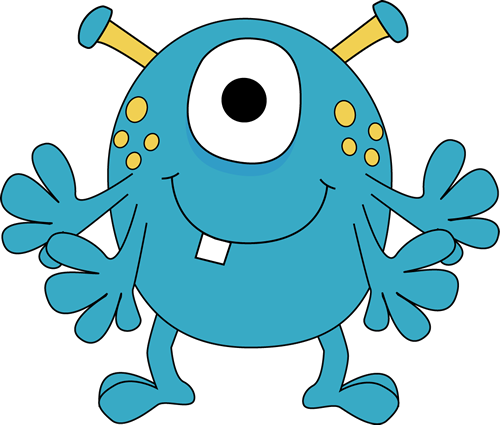 arms clipart monster