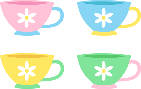 mug clipart colorful