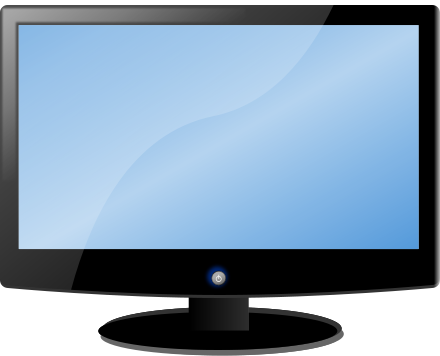 clipart tv lcd