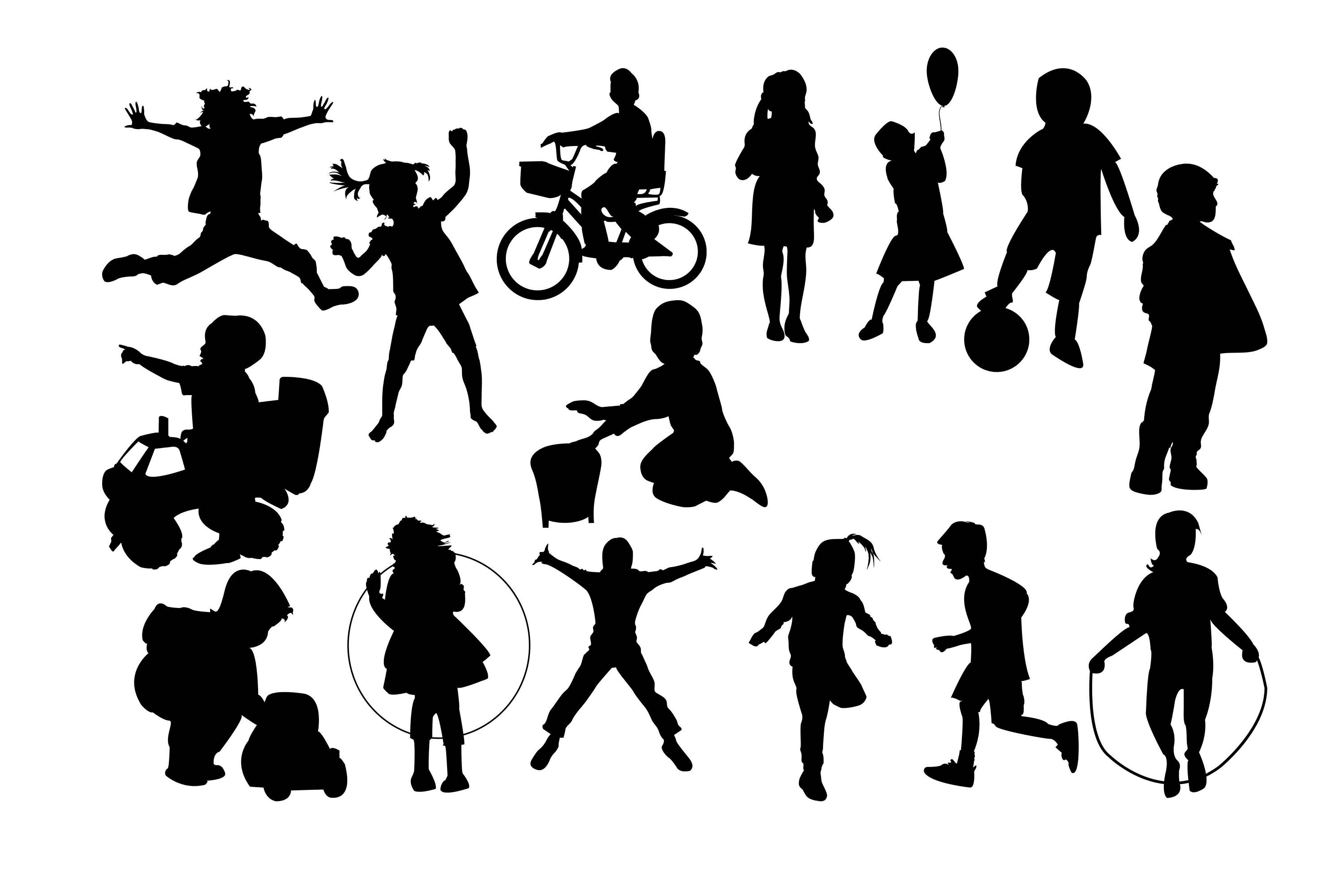 Shadow clipart childrens.