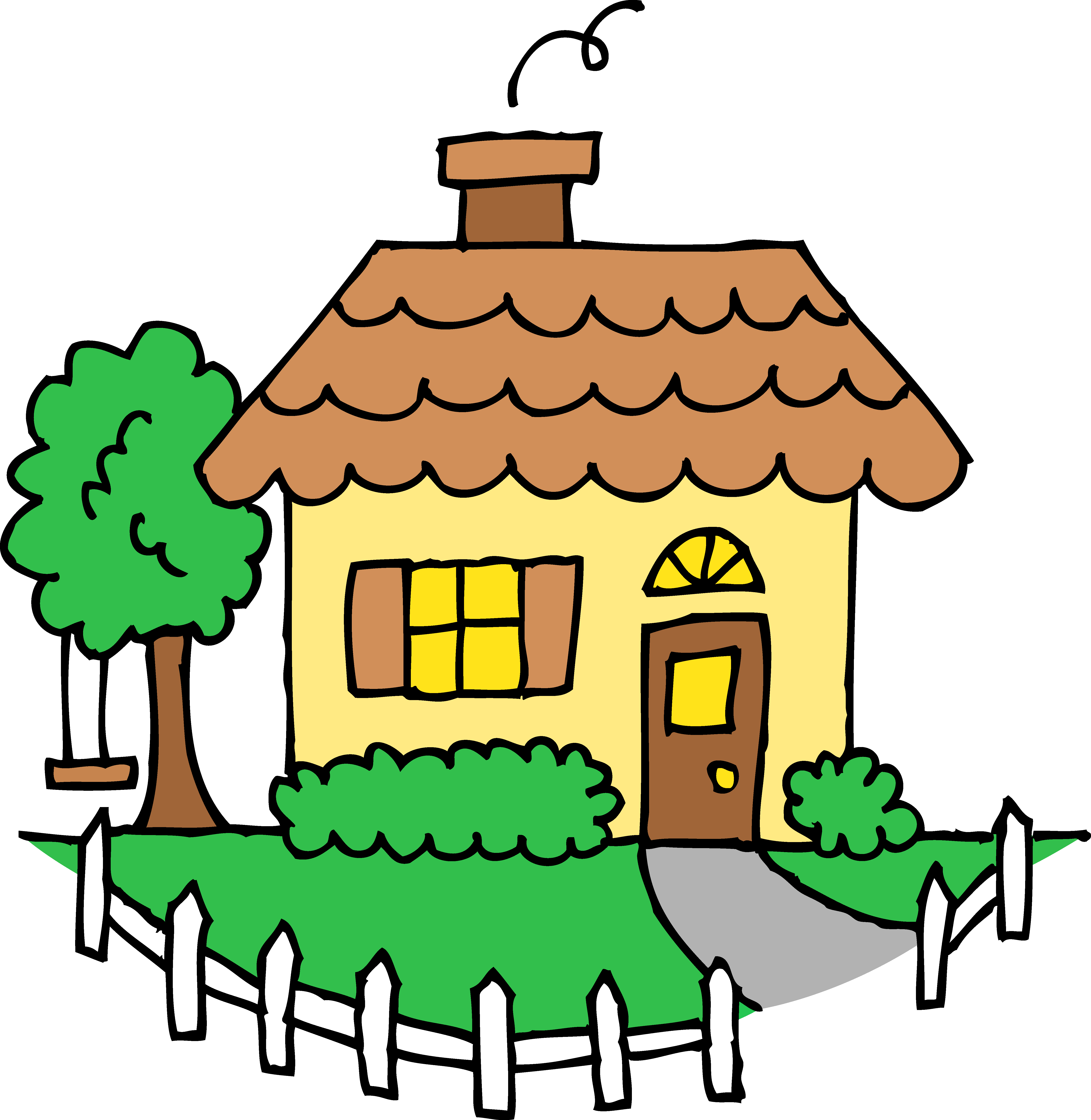 home clipart kids