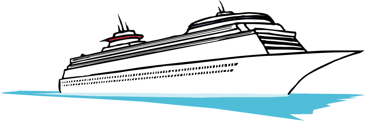 cruise ship clipart transparent background