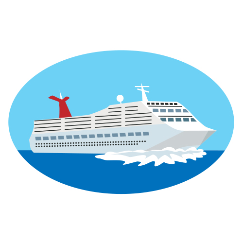 cruise ship clipart passenger