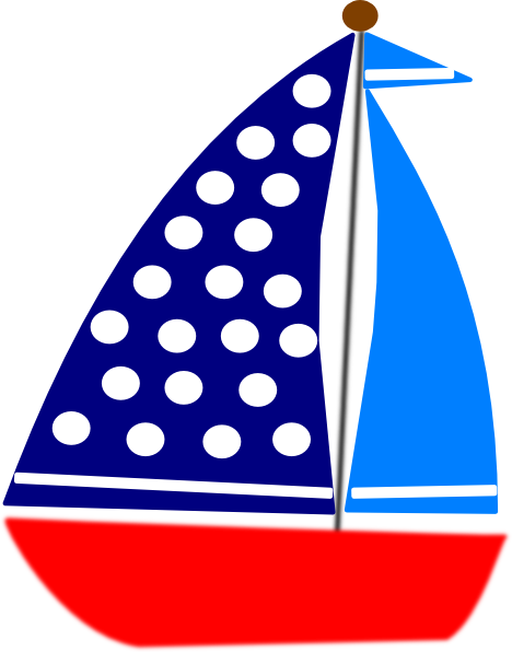 sailboat clipart cute