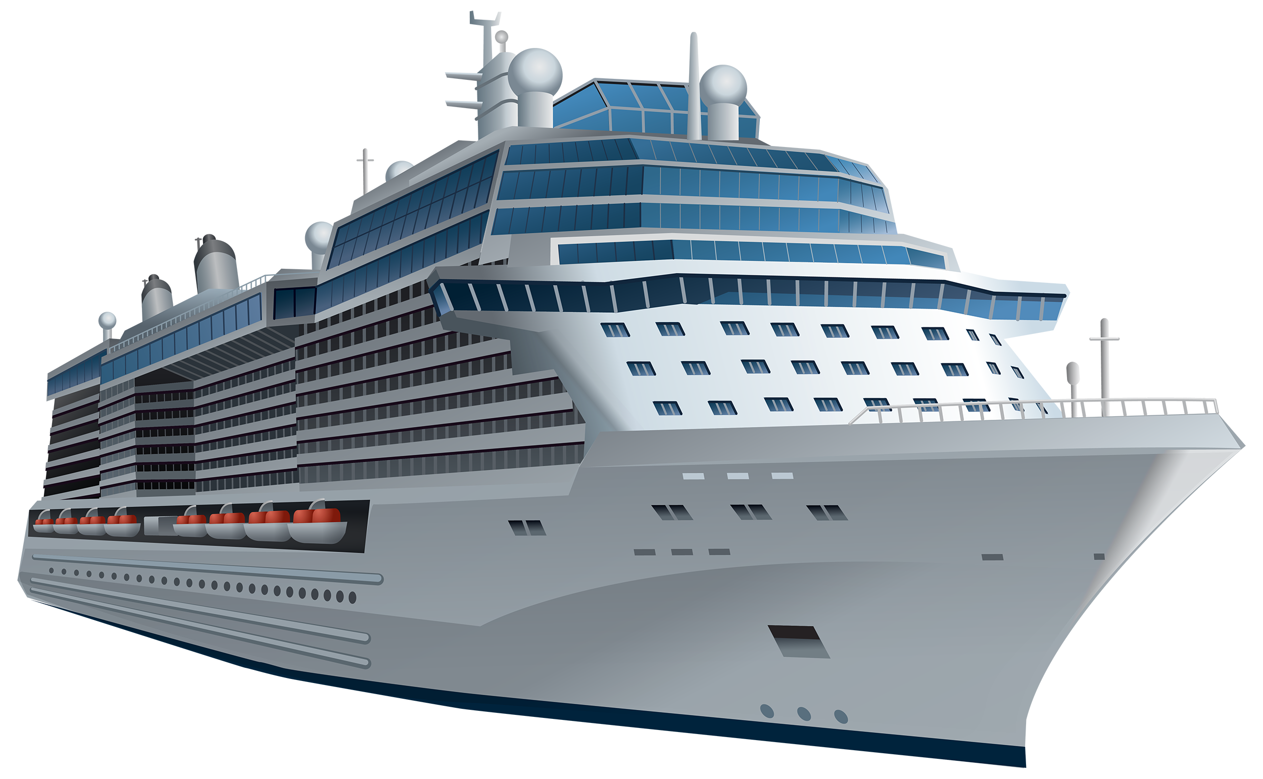 cruise ship clipart clear background