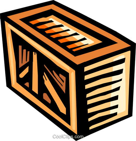 Shipments clipart crate.