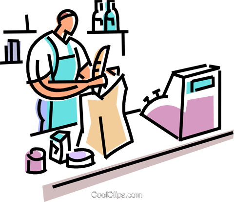 grocery clipart vector