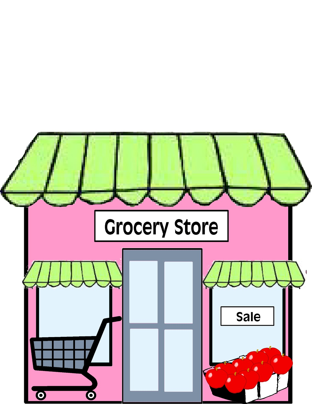 grocery clipart store