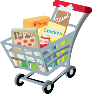 shopping carts clipart shopper