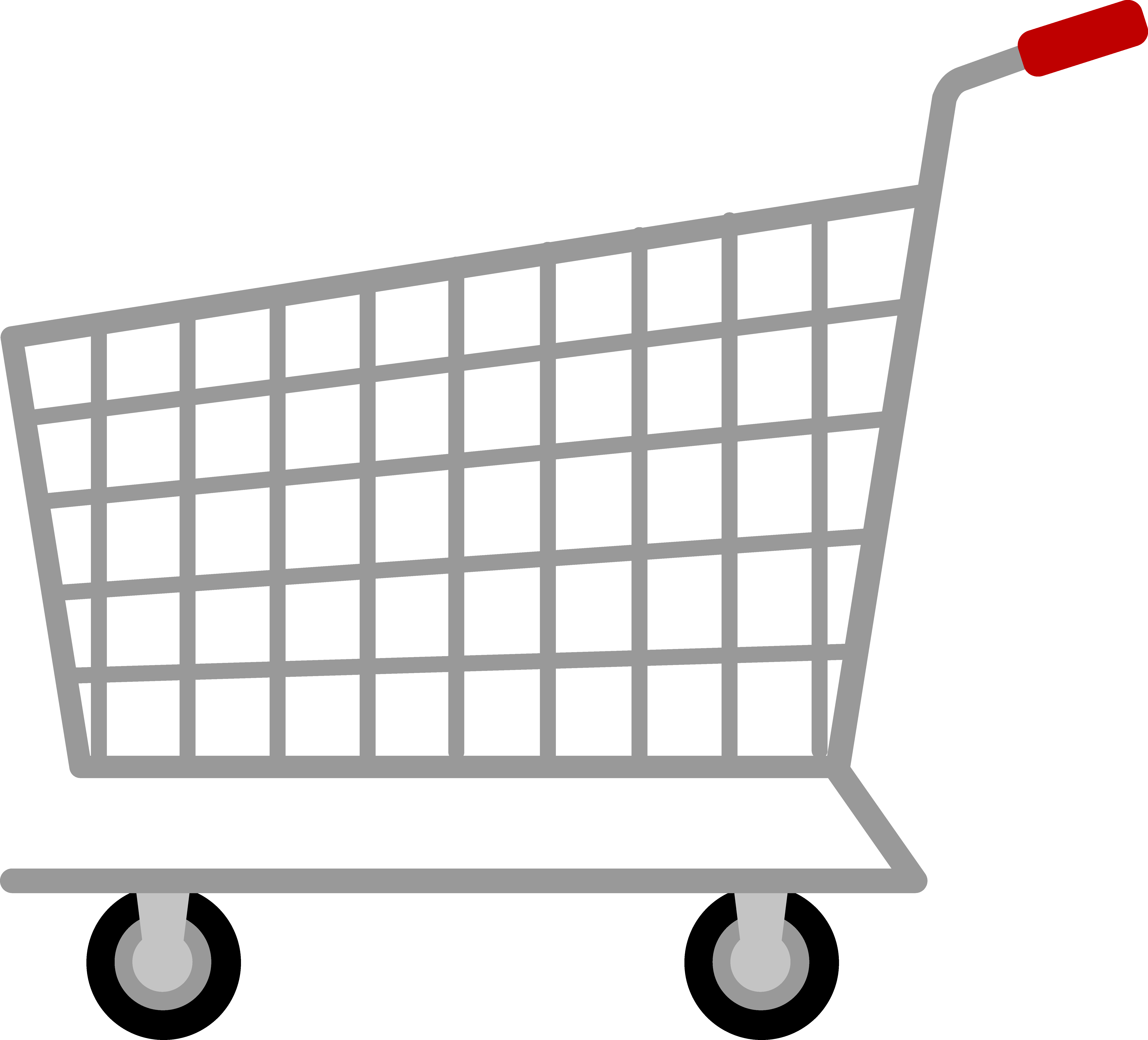 Carts clipart trolley supermarket.