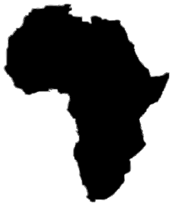 africa clipart outline
