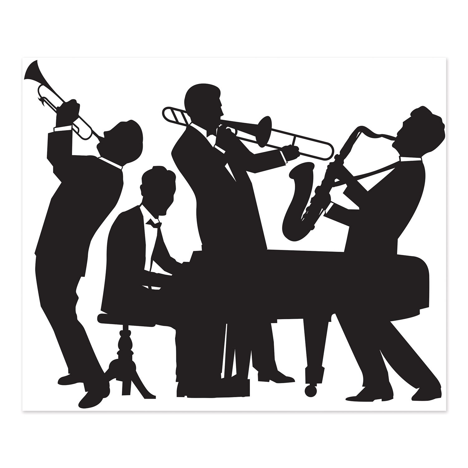 band clipart jazz