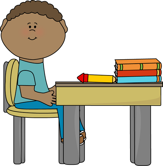 sit clipart student seat