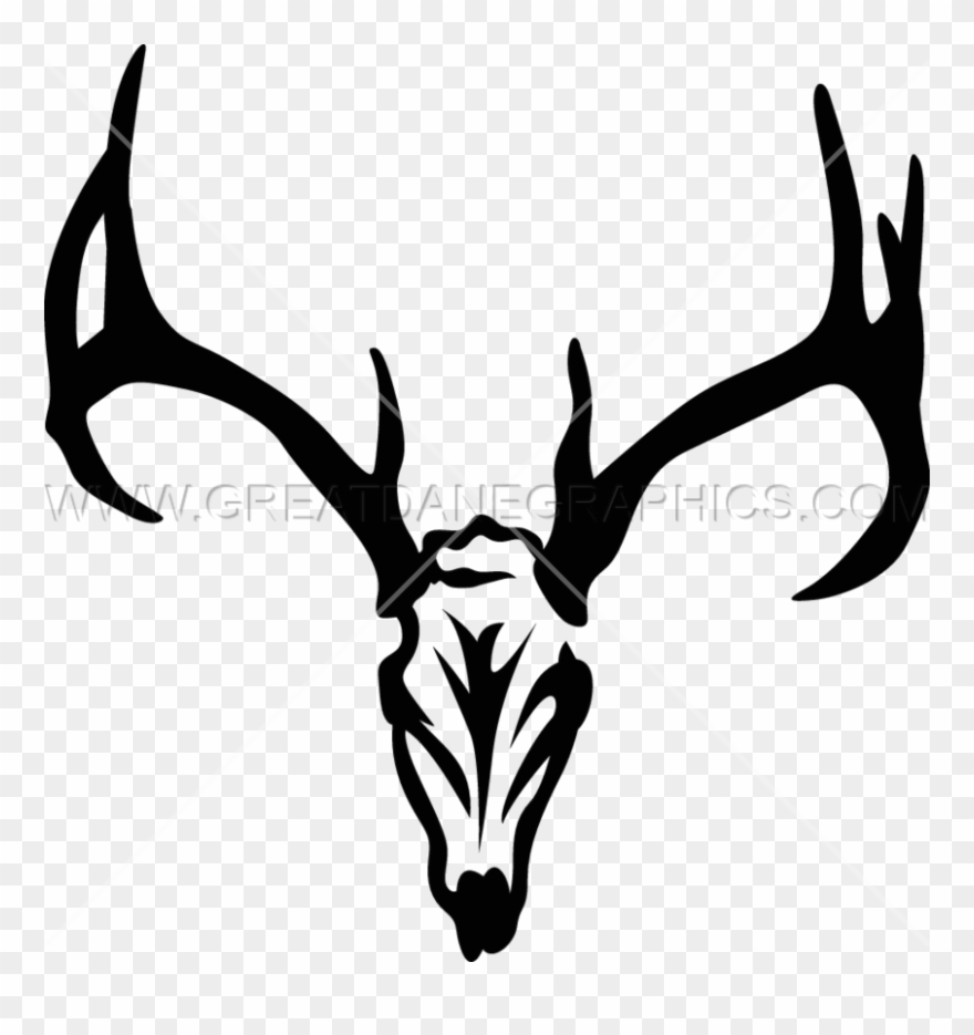 deer head clipart svg