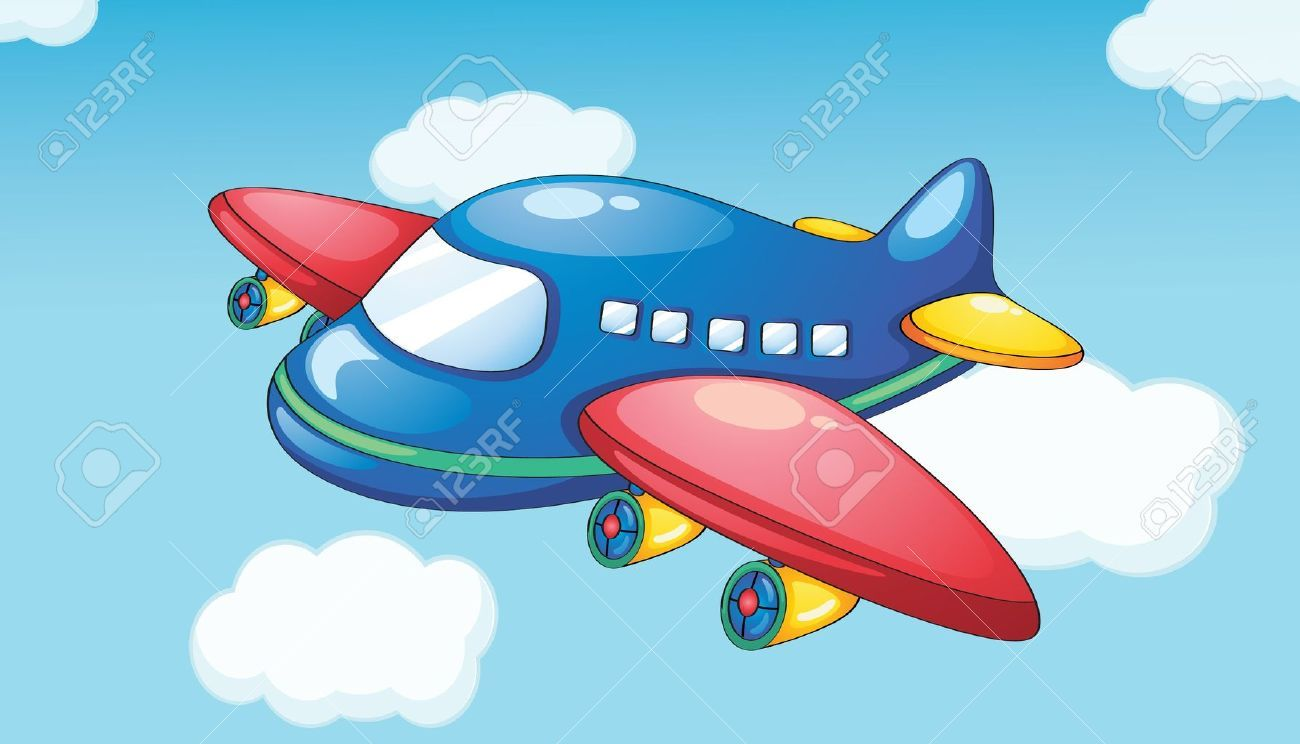 Sky clipart airplane.