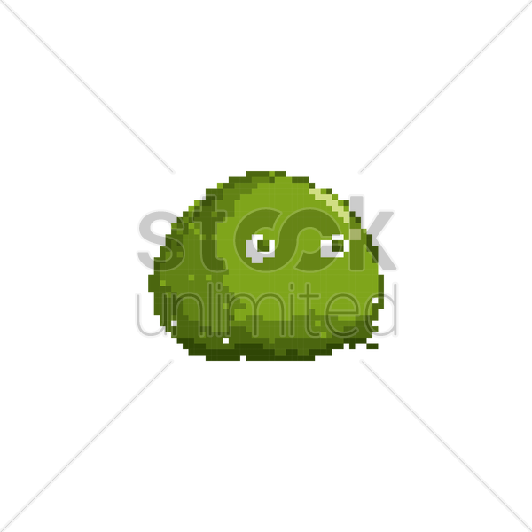Slime clipart vector.