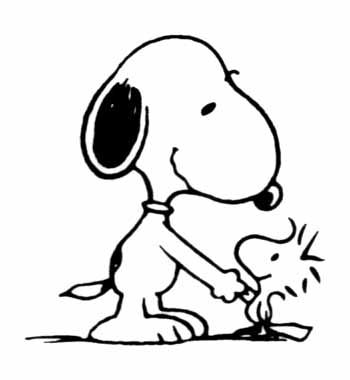 Snoopy clipart snoopy woodstock.