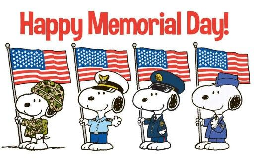 memorial day images clipart snoopy