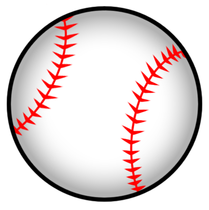clipart baseball transparent background
