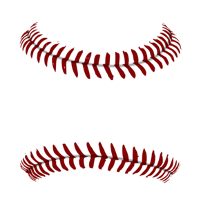 baseball laces clipart high resolution