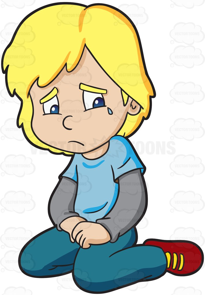 crying clipart student
