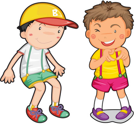 friendship clipart boy