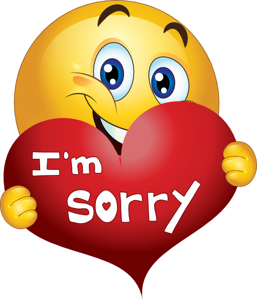 Sorry clipart friends.