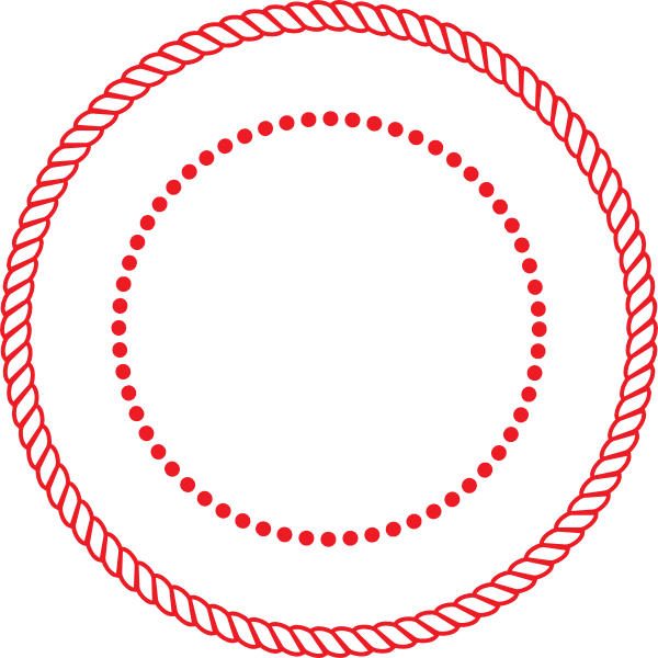 rope clipart round