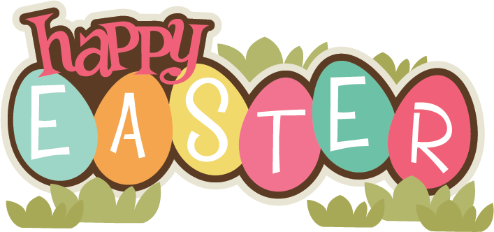 happy easter clipart transparent background