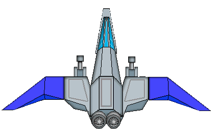 spaceship clipart fighter