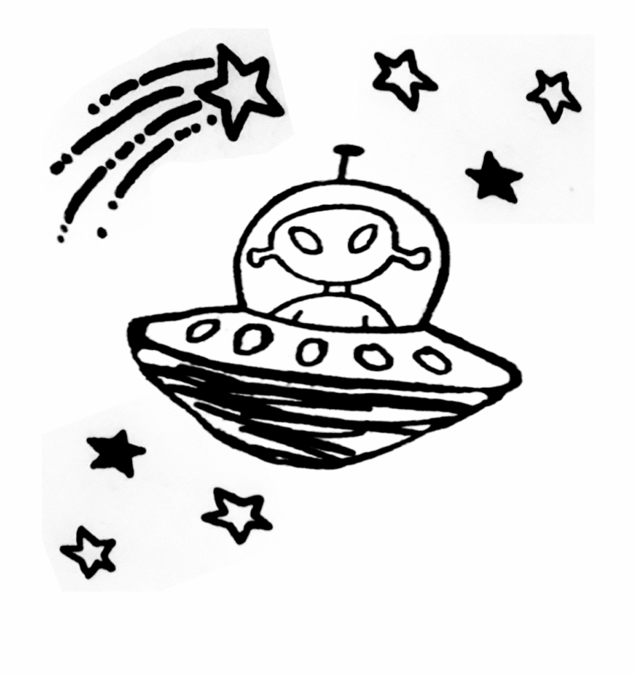 Spaceship clipart tumblr transparent.